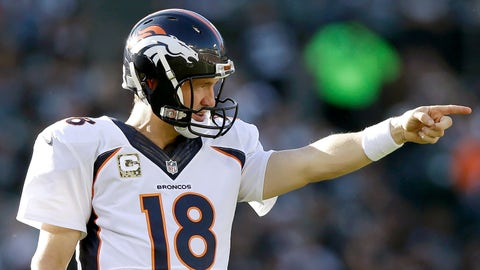 Peyton Manning: 23 playoff games, 11 wins, 12 losses