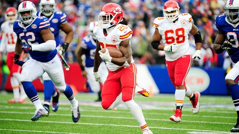 Jamaal Charles, RB, Chiefs