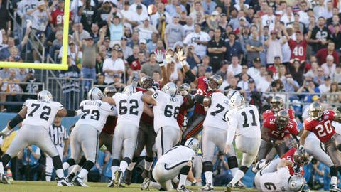 3 – Players still active from the 2002 Raiders squad that reached Super Bowl XXXVII