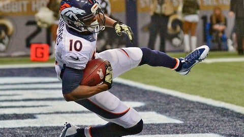 Emmanuel Sanders, WR, Broncos