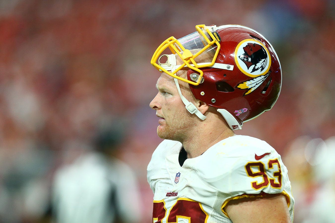 huge selection of f937e 2eaa6 Redskins linebacker Trent Murphy reportedly is facing PED ...