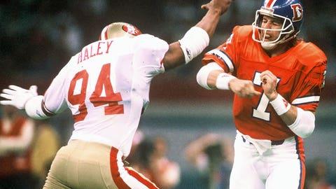1: 1989 Denver Broncos (Super Bowl 24 -- San Francisco 55, Denver 10)