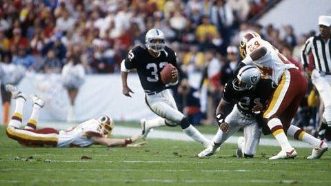 10: 1983 Washington Redskins (Super Bowl 18 -- Oakland 38, Washington 9)