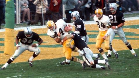 11: 1967 Oakland Raiders (Super Bowl 2 -- Green Bay 33, Oakland 14)