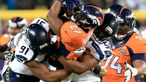 3: 2013 Denver Broncos (Super Bowl 48 -- Seattle 43, Denver 8)