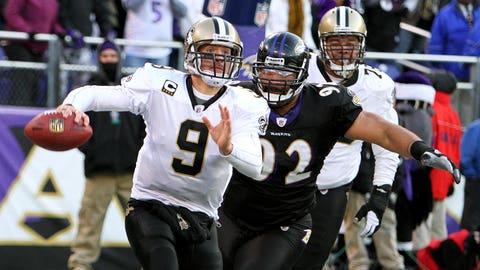 Baltimore Ravens at New Orleans Saints