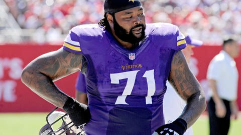 Phil Loadholt, OT, Vikings