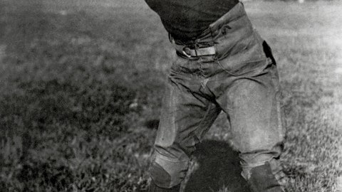 5 -- 1925: Chicago Bears 0, Chicago Cardinals 0