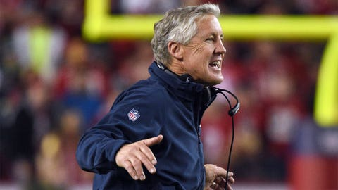 Pete Carroll was the New England Patriots head coach