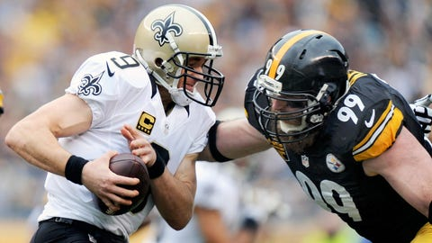Brett Keisel, DE, Steelers