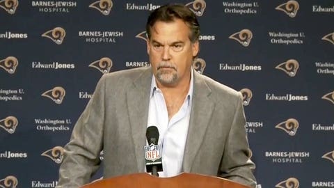 Jeff Fisher sees the light