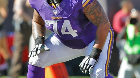 Charlie Johnson, G, Vikings