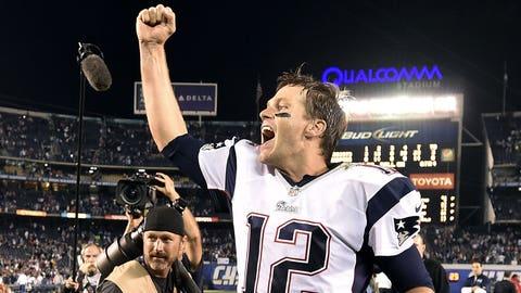 Tom Brady: 26 playoff games, 18 wins, 8 losses