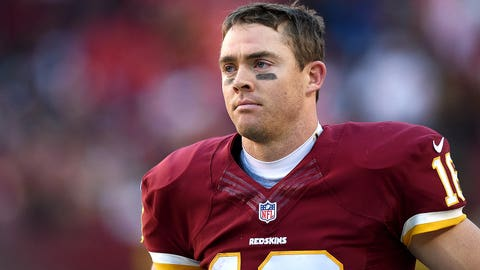 Redskins QB Colt McCoy, $1.5 million