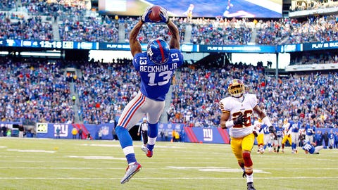 Odell Beckham Jr., WR, New York Giants (LSU)