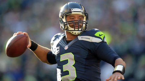 Russell Wilson: 5 playoff games, 4 wins, 1 loss