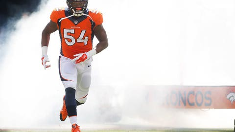 Brandon Marshall, LB, Broncos (hamstring): Questionable