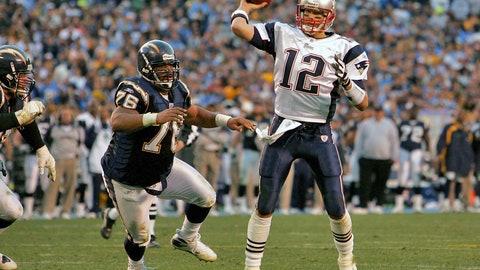 2006 season: New England 24, San Diego 21