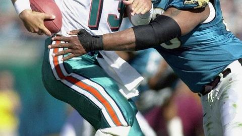 1999 season: Jacksonville 62, Miami 7