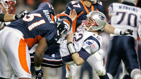 2005 season: Denver 27, New England 13