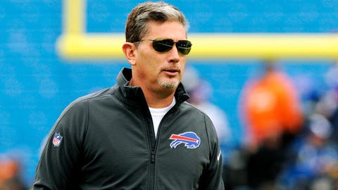 Buffalo defensive coordinator Jim Schwartz