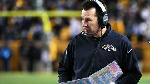 Baltimore offensive coordinator Gary Kubiak