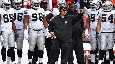 Oakland interim head coach Tony Sparano
