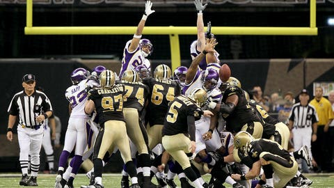 2009 NFC: New Orleans 31, Minnesota 28 (OT)
