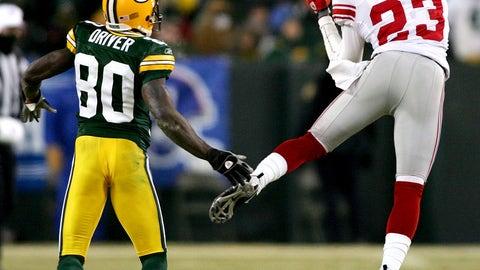 2007 NFC: New York Giants 23, Green Bay 20 (OT)