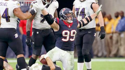 Houston: An NFL MVP trophy for J.J. Watt