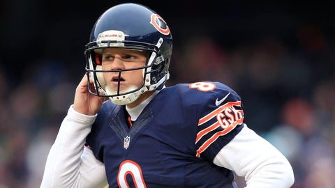 Bears QB Jimmy Clausen, $1.125 million