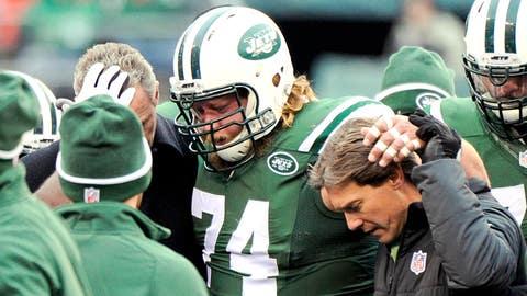 Nick Mangold, C, Jets