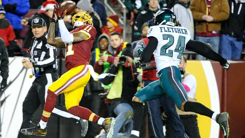 DeSean Jackson, WR, Redskins (shoulder): Out
