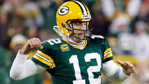 Aaron Rodgers: 9 playoff games, 5 wins, 4 losses