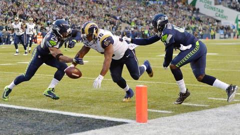 ST. LOUIS: vs. Seattle in Week 1 (1 p.m. ET/Sept. 13)