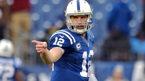 Andrew Luck: 3 playoff games, 1 win, 2 losses