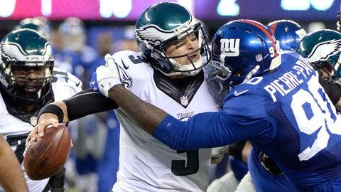 QB Mark Sanchez (Philadelphia):