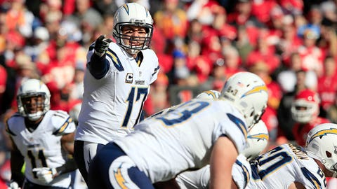 13. San Diego Chargers