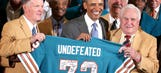 Legendary Don Shula, coach of undefeated 1972 Miami Dolphins, turns 85