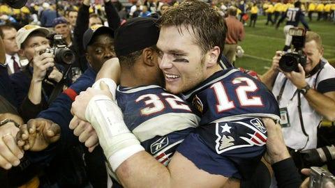 Second Super Bowl ring -- Feb. 1, 2004
