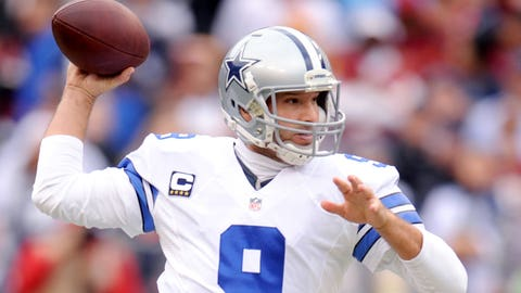 Quarterback – Tony Romo, Dallas Cowboys