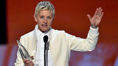New Orleans: Ellen DeGeneres (comic, actress, talk show host)