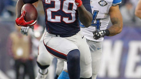 Week 12: Patriots 34, Lions 9