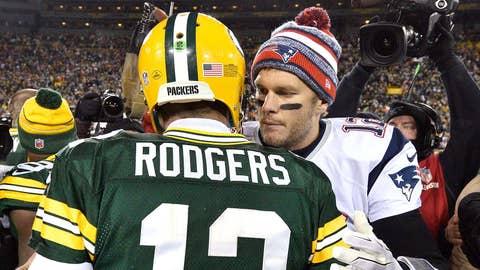 Week 13: Packers 26, Patriots 21