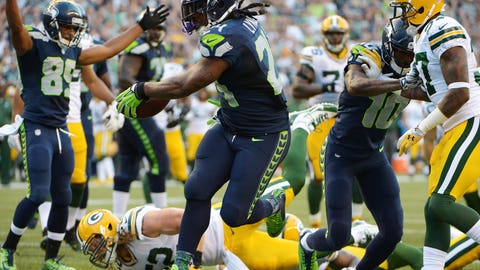 Week 1: Seahawks 36, Packers 16