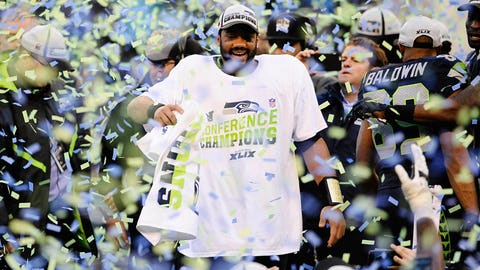 vs. Aaron Rodgers, 2014 NFC championship: Seahawks 28, Packers 22