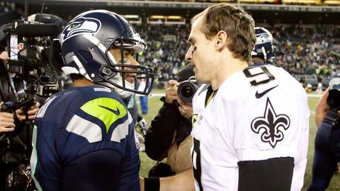 vs. Drew Brees, Week 13, 2013: Seahawks 34, Saints 7