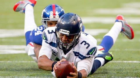 vs. Eli Manning, Week 15, 2013: Seahawks 23, Giants 0