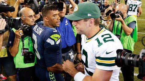 vs. Aaron Rodgers, Week 1, 2014: Seahawks 36, Packers 16