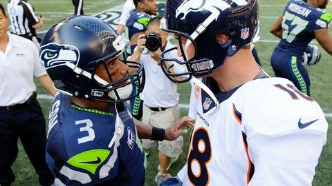 vs. Peyton Manning, Week 3, 2014: Seahawks 26, Broncos 20